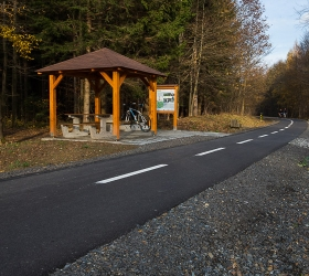 Cycling trail Nový Jičín - Hostašovice